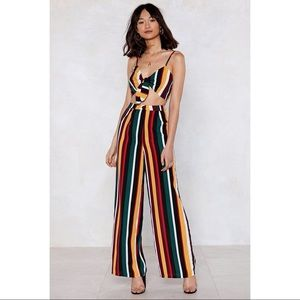 Nasty Gal All The Stripe Reasons Pants